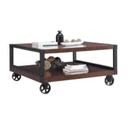 Novogratz Southampton Wood Veneer Coffee Table, Espresso (5038096COM)