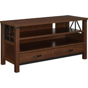 "Ameriwood Home Buchannan Ridge TV Stand, Cherry, For TVs up to 50"" (1741096)"