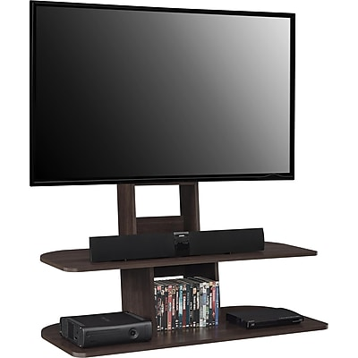 """Ameriwood Home Galaxy TV Stand with Mount, Espresso, For TVs up to 65"""" (1761196PCOM)"""