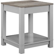 Ameriwood Home Carver End Table, Gray (5046096COM)