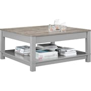 Ameriwood Home Carver Coffee Table, Gray (5047096COM)
