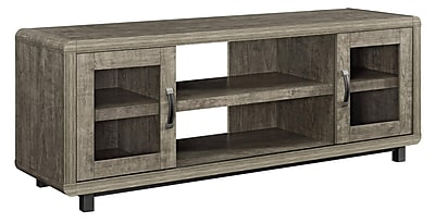 Ameriwood Home Sienna Park TV Console, Weathered Oak (1814096)