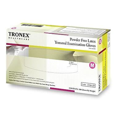 Tronex Latex Powder-Free, Fully Textured Examination Gloves,Polymer Coated, Extra Small (3166-05)