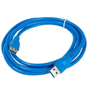 Sumaclife Blue USB 3.0 Extension Cable A-Female to A-Male -black 6 Feet