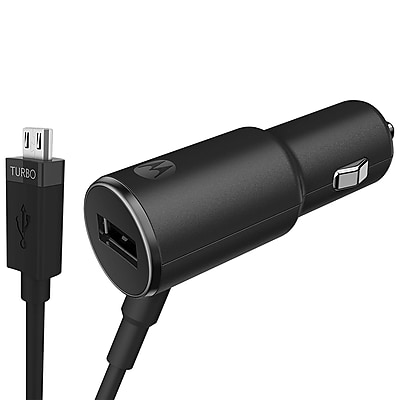 Motorola TurboPower 25W Car Charger