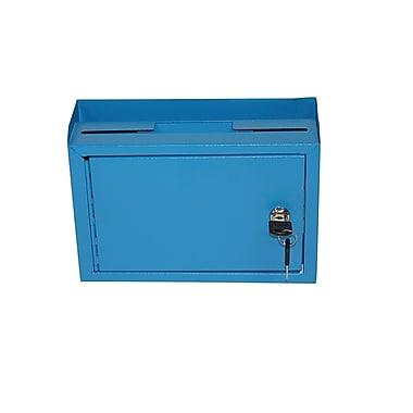 Adir Deluxe Steel Drop Box Blue (631-02-BLU)