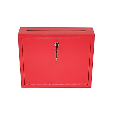 Adir Steel Drop Box Red (631-03-RED)