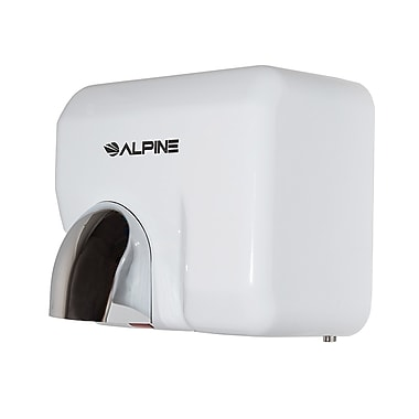 Alpine Hemlock High Speed, Commercial Hand Dryer, White, 220/240V (401-10-WHI)