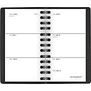 """2020 AT-A-GLANCE 2-1/2"""" x 4-1/2"""" Unruled Weekly Pocket Planner, Black (70-035-05-20)"""