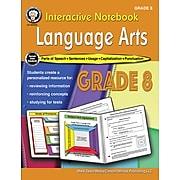 Interactive Notebook Language Arts Resource Book by Schyrlet Cameron, Grade 8, Paperback (405029)