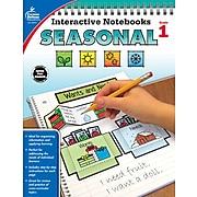 Carson-Dellosa Interactive Notebooks Seasonal, Grade 1 Paperback (105014)