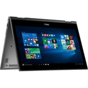 "Refurbished Dell 13-5368 13.3"" LED Intel Core i3-6100U 500GB 4GB Microsoft Windows 10 Home Laptop Gray"