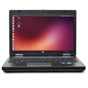 "Refurbished HP 6470b 14"" LED Intel Core i5-3320M 128GB 4GB No OS Laptop Black6470BI526LNXPBR"