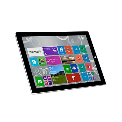 """""Refurbished Microsoft Surface Pro 12"""""""" Tablet 256GB Windows 10 Pro Silver"""""" 24076487"