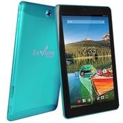 """Refurbished Envizen EVT10Q-16G-TEAL-R 10.1"""" Tablet 16GB Android 4.4 KitKat Blue"""