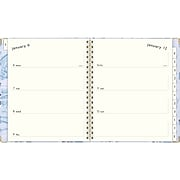 "2020 Lillian Farag 8"" x 10-1/2"" Weekly/Monthly Hardcover Planner, Water Lilies (6326-904-20)"