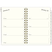"2020 Lillian Farag 5-1/2"" x 8-1/2"" Weekly/Monthly Planner, Pink Dot String (1327-200-20)"