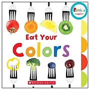 Scholastic Rookie Toddler® Board Book, Eat Your Colors, Set of 3 (SC-652963BN)