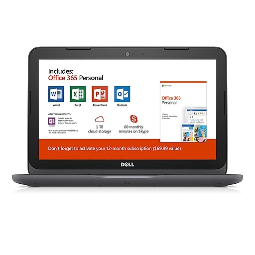 Dell Inspiron 11 3180 I3180-A361GRY-PUS 11.6