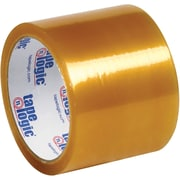 "Tape Logic® #53 PVC Natural Rubber Tape, 2.1 Mil, 3"" x 55 yds., Clear, 24/Case"
