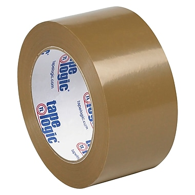 Tape Logic® #50 Natural Rubber Tape, 1.9 Mil, 2