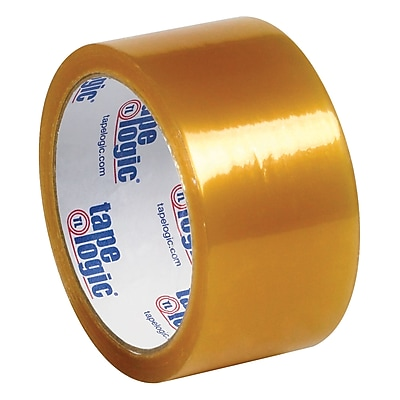 Tape Logic® #53 PVC Natural Rubber Tape, 2.1 Mil, 2