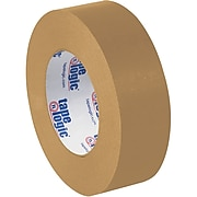 "Tape Logic® #5300 Flatback Tape, 1 1/2"" x 60 yds., Kraft, 6/Case"
