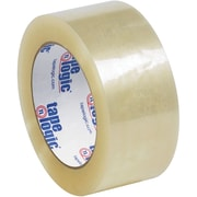 "Tape Logic® #122 Quiet Carton Sealing Tape, 2.0 Mil, 2"" x 110 yds., Clear, 36/Case"