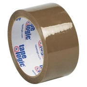 "Tape Logic® #50 Natural Rubber Tape, 1.9 Mil, 2"" x 55 yds., Tan, 6/Case"