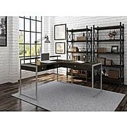 "Whalen Asherton 60"" L-Shaped Desk, Harvest Oak (SPUS-ASHD)"