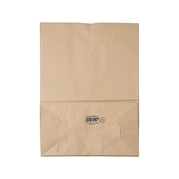 "AJM 17""H x 12""W x 7""D Paper Food Bags, Brown, 400/Bundle (BAGSK1675)"