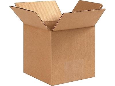 4 Width 48 Length Pack of 25 48 L x 4 W x 4 H 4 Height BOX USA B4844MS Long Moving Boxes Kraft