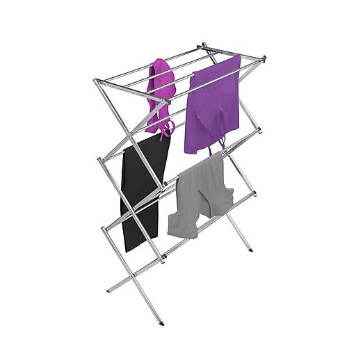 "Woolite Drying Rack, 29"" x 14.75"" x 42"" (W-84128-Grey)"