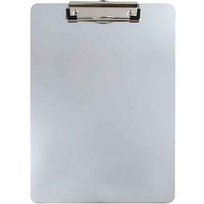 JAM Paper® Aluminum Clipboard, 9 x 13, Silver, Sold Individually (331ALCsi)