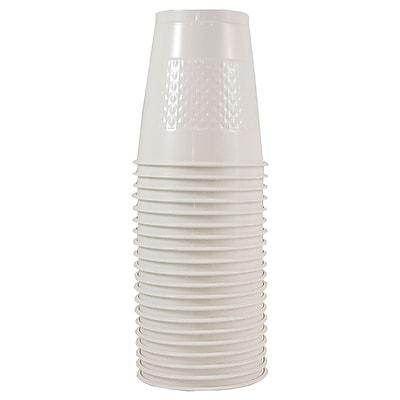 JAM Paper® Plastic Cups, 12 oz, White, 200/box (2255520710b)
