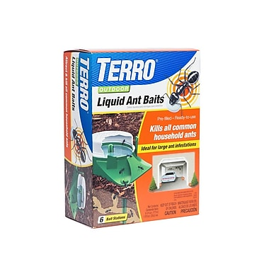 TERRO Outdoor Liquid Ant Baits - 6 Pack (T1806-6)