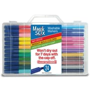 The Pencil Grip, Magic Stix Washable Markers That Won't Dry Out, Pack of 24 (TPG394)