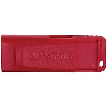 Verbatim USB Flash Drive, 32GB, Password ProteCtion, Red