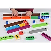Educational Advantage Connecting Number Rods 64 Piece Set (EA-310)
