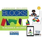 Stages Learning Materials  Language Builder® Blocks, 40 Blocks & 120 Cards (SLM006)