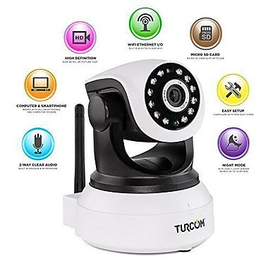 Turcom Security Camera WiFi Wireless (TS-620)