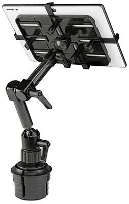 Mount-It! Carbon Fiber Car Cup Holder Tablet Mount (MI-7321)