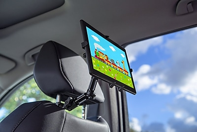 Mount-It! Vehicle Headrest Tablet Mount for iPad 2, 3, iPad Air, iPad Air 2, and 7