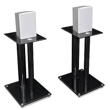 Mount-It! Speaker Stands for Book Shelf and Surround Sound Speakers (MI-SB28)