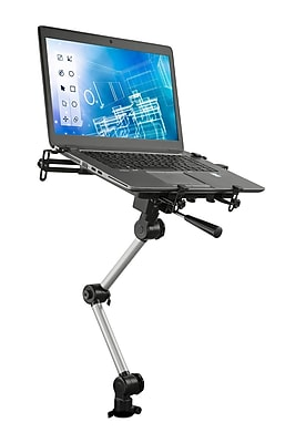 Mount-It! Laptop Vehicle Holder Stand with Full Motion Design for Autos, Vans, and Trucks (MI-426)