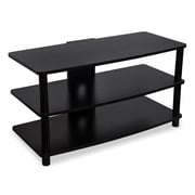 Mount-It! AV TV Stand with 3 Shelves, Wood and Metal Furniture (MI-868L)