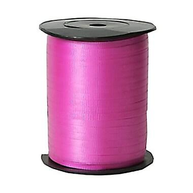 JAM Paper® Curling Ribbon, 250 yard spool, Light Red, 12/pack (01072802b)