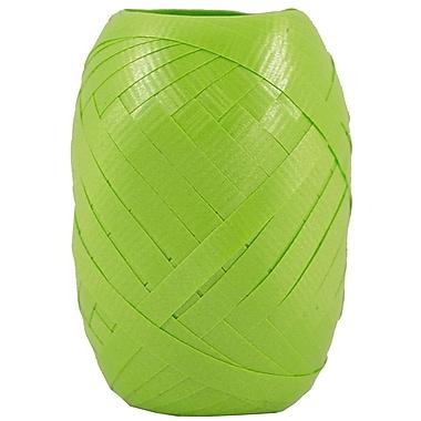 JAM Paper® Curling Ribbon, 66ft, Lime Green, 12/pack (40329786b)
