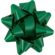 "JAM Paper® Gift Bows, 3.5"" Diameter, Green, 12/pack (1052922)"