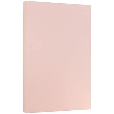 JAM Paper® Parchment Legal Paper, 8.5 x 14, 24lb Pink, 500/ream (17132139b)